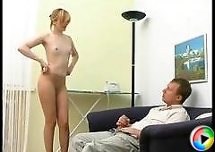 Isabella&Adrian hot pantyhose video