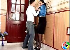 Laura&Monty amazing nylon movie