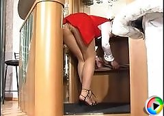 Gertie&Amelia naughty pantyhose video