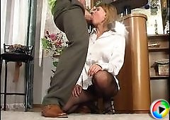 Alice&Frank hot pantyhose video