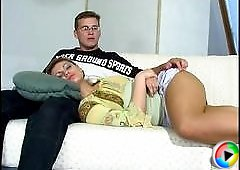 Amelia&Peter amazing pantyhose movie