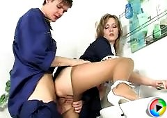 Paulina&Felix enjoying kinky pantyhose sex